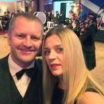 Ben & Magda at the Caledonian Ball