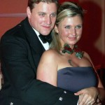 Iain and Alex at the 2005 Caledonian Ball