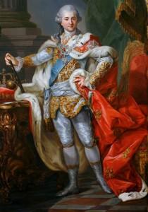 Stanisław II August Poniatowski in coronation robes