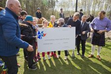 """Ceremonial presentation of St Andrew's Foundation's donation to CPD """"Helenów"""""""