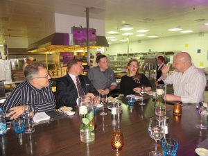 Tasting the dinner menu in the Marriott kitchens - Reserve your ticket now!