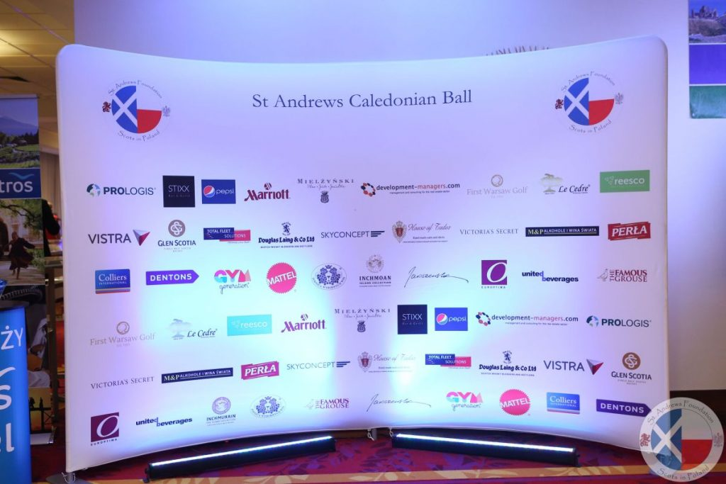 Donors and supporters of the 2017 St Andrew's Caledonian Charity Ball