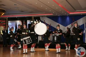 Częstochowa Pipes & Drums play a selection of Scottish piping tunes