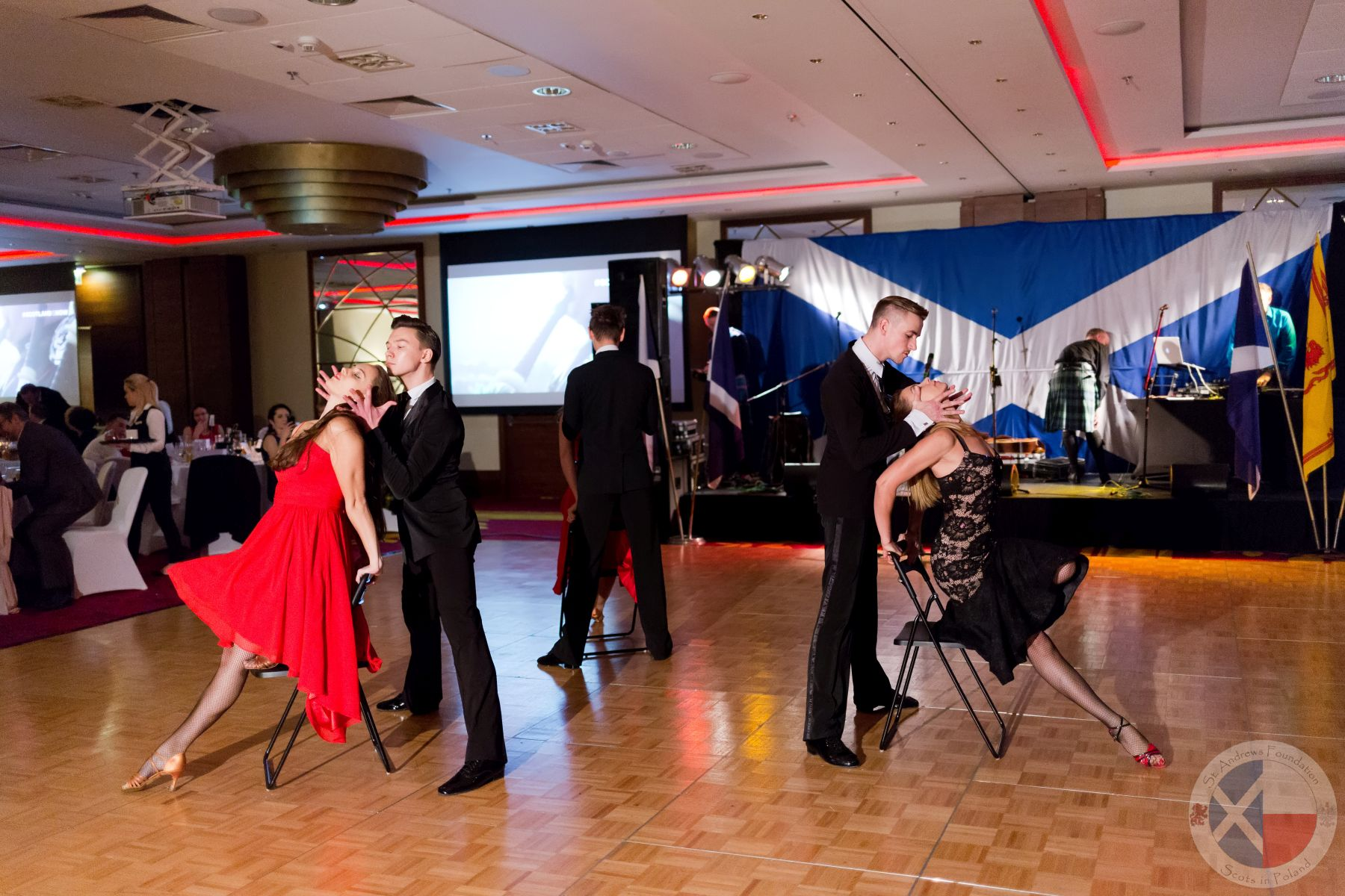 Arthur Murray Dance Studio demonstrate the tango
